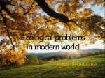 Ecological problems12